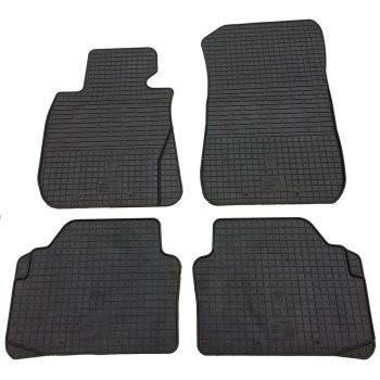 Коврики в салон для BMW 3 (E90) 2005-, резиновые черные  (Stingray)