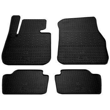 Коврики в салон для BMW 3 (F30) 2012-, резиновые черные  (Stingray)