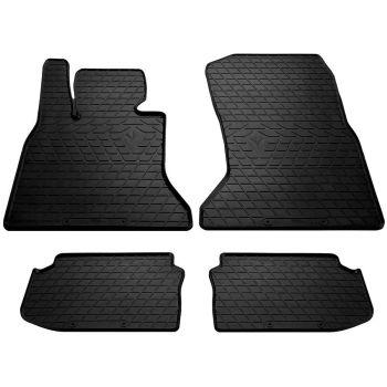 Коврики в салон для BMW 5 (F10) 2010-, резиновые черные  (Stingray)