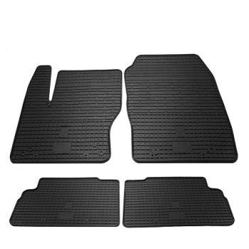 Коврики в салон для Ford C-Max 2011-, резиновые черные  (Stingray)