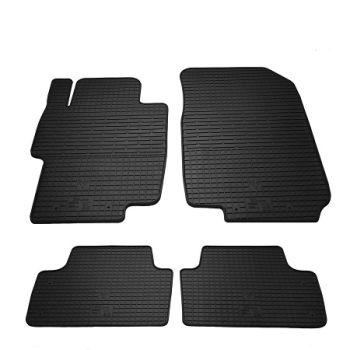 Коврики в салон для Honda Accord 2003-2008, резиновые черные  (Stingray)