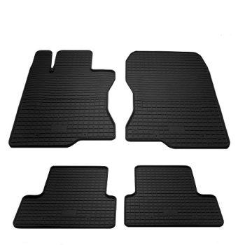 Коврики в салон для Honda Accord 2008-2013, резиновые черные  (Stingray)