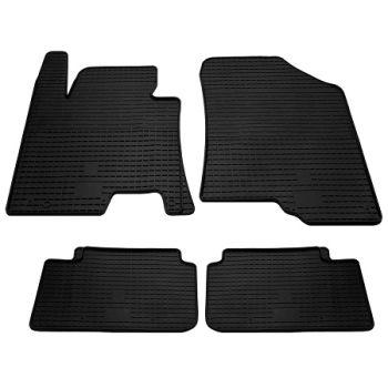 Коврики в салон для Kia Ceed 2012-2018, резиновые черные  (Stingray)