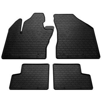 Коврики в салон для Jeep Renegade 2014-, резиновые черные  (Stingray)