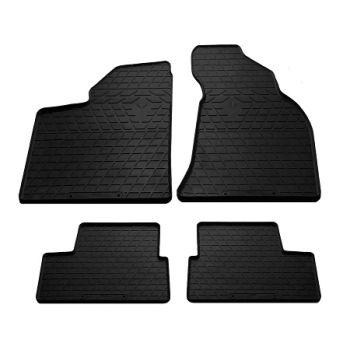 Коврики в салон для Lada (Ваз) 2110-12 '95-14, резиновые черные (Stingray)