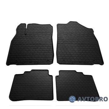 Коврики в салон для Lexus ES '12-18, резиновые черные (Stingray)