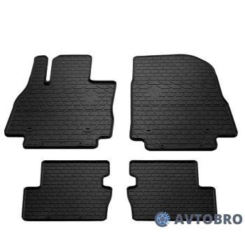 Коврики в салон для Mazda 2 '15-, резиновые черные (Stingray)