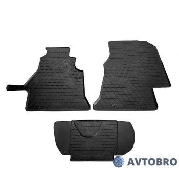 Коврики в салон для Mercedes Sprinter '95-06, 1+2, резиновые черные (Stingray)