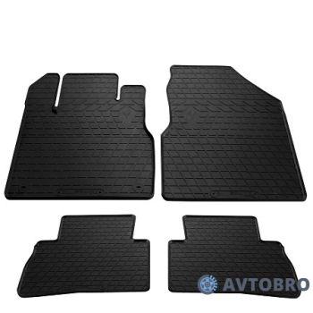 Коврики в салон для Nissan Murano '08-14, резиновые черные (Stingray)