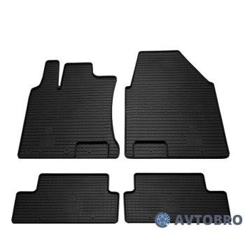 Коврики в салон для Nissan Qashqai '06-14, резиновые черные (Stingray)