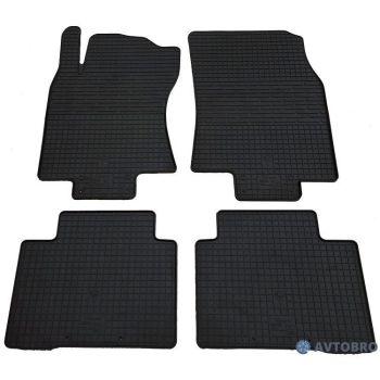 Коврики в салон для Nissan X-Trail (T32) '14-, резиновые черные (Stingray)