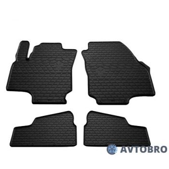 Коврики в салон для Opel Astra G '98-10, резиновые черные (Stingray)