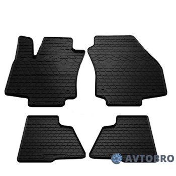 Коврики в салон для Opel Astra H '04-15, резиновые черные (Stingray)
