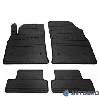 Коврики в салон для Opel Astra J '09-15, резиновые черные (Stingray)