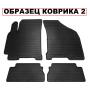Коврики в салон для BMW 1 2004-2012, резиновые черные  (Stingray)