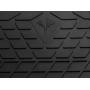Коврики в салон для Dodge Durango '10-, резиновые черные  (Stingray)