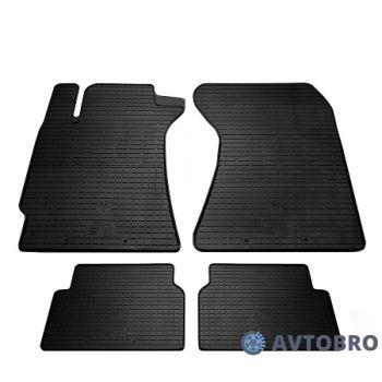Коврики в салон для Subaru Forester '03-08, резиновые черные (Stingray)