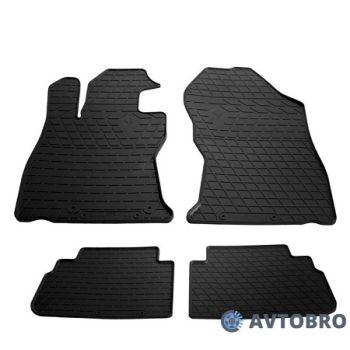 Коврики в салон для Subaru Forester '19-, резиновые черные (Stingray)