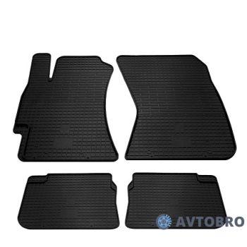 Коврики в салон для Subaru Forester '08-12, резиновые черные (Stingray)