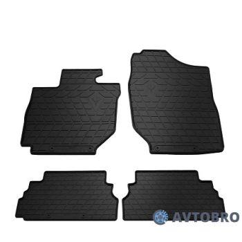 Коврики в салон для Suzuki Jimny '19-, резиновые черные (Stingray)