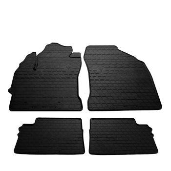 Коврики в салон для Toyota Auris '13-, резиновые черные (Stingray)