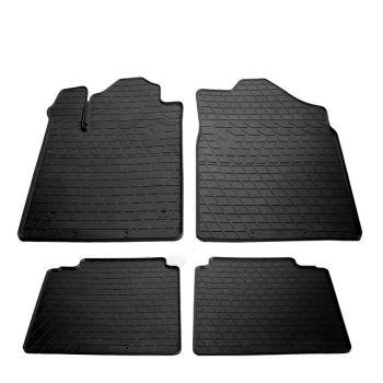 Коврики в салон для Toyota Avalon '05-12, резиновые черные (Stingray)