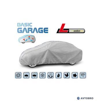 """Тент автомобильный для седана """"L"""" 4.25см-4.70см """"Basik Garage"""""""