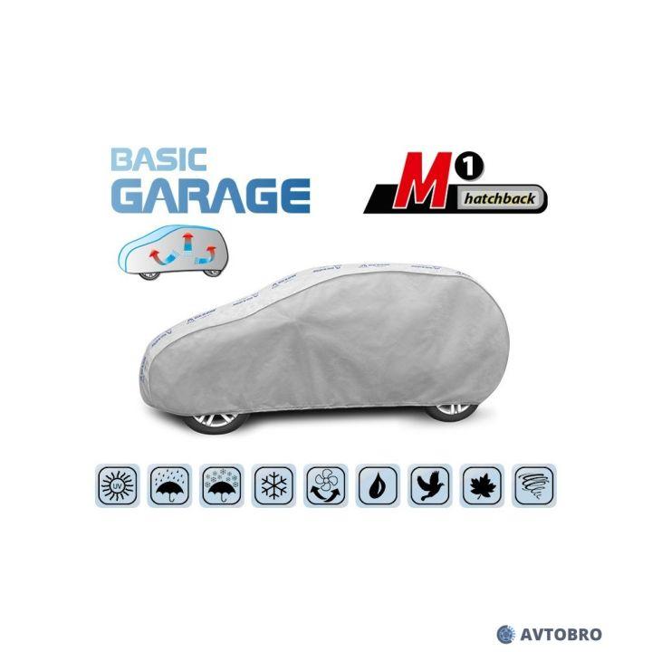 """Тент автомобильный для хетчбэка """"M1"""" 3.55см-3.80см """"Basik Garage"""""""