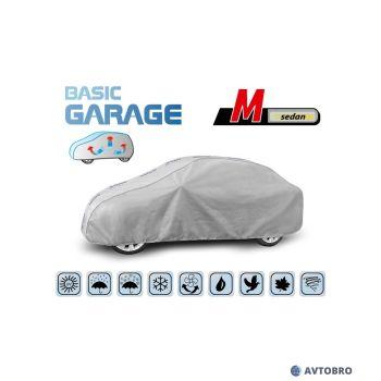 """Тент автомобильный для седана """"M"""" 3.80см-4.25см """"Basik Garage"""""""