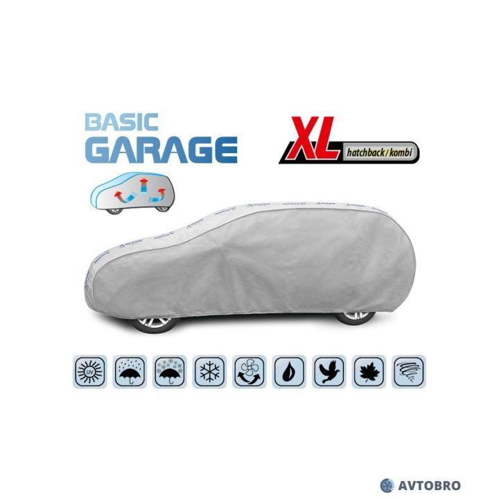 """Тент автомобильный для универсала """"XL"""" 4.55см-4.85см """"Basik Garage"""""""
