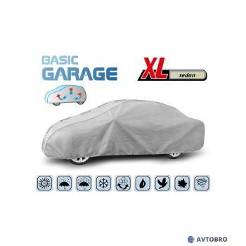 """Тент автомобильный для седана """"XL"""" 4.72см-5.00см """"Basik Garage"""""""