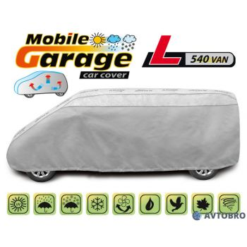 """Чехол-тент автомобильный для микроавтобуса """"L540"""" 5.30см-5.40см """"Mobile Garage"""""""