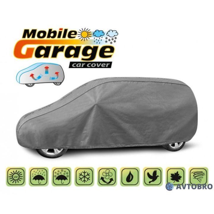 """Чехол-тент автомобильный для минивена """"L LAV"""" 4.23см-4.43см """"Mobile Garage"""""""