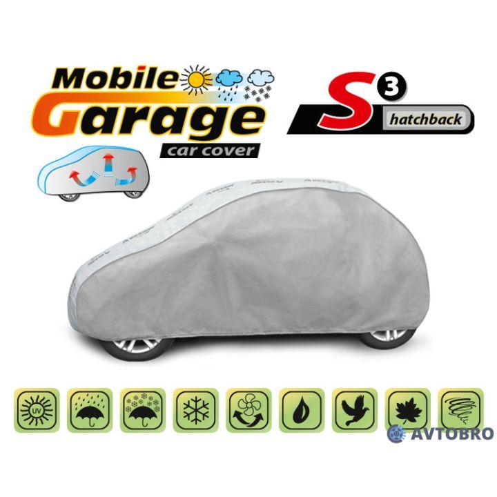 """Чехол-тент автомобильный для хетчбэка """"S3"""" """"Mobile Garage"""""""