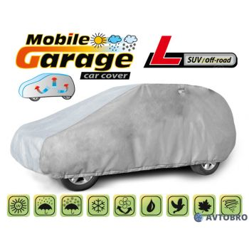 """Чехол-тент автомобильный для джипа """"L"""" 4.30см-4.60см """"Mobile Garage"""""""