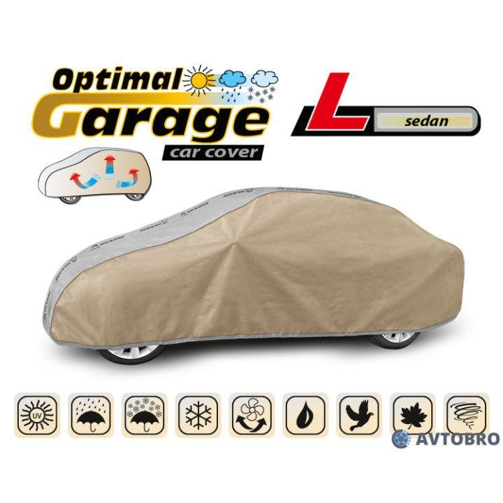 """Тент автомобильный для седана """"L"""" 4.25см-4.70см """"Optimal Garage"""""""