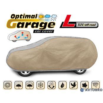 """Тент автомобильный для джипа """"L"""" 4.30см-4.60см, SUV/Off Road """"Optimal Garage"""""""
