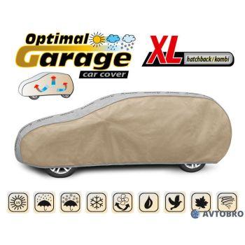 """Тент автомобильный для универсала/хетчбэка """"XL"""" 4.55см-4.85см """"Optimal Garage"""""""