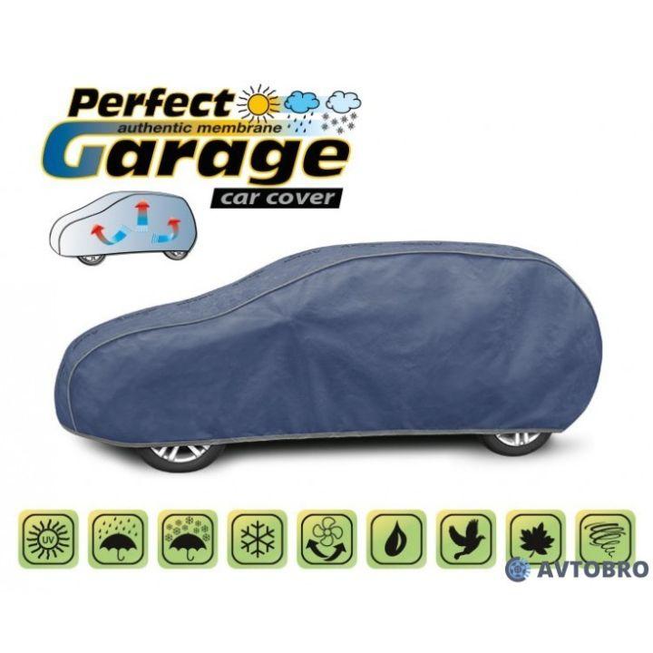 "Тент для автомобиля на хетчбэк ""L2"" 4.30см-4.55см ""Perfect Garage"""