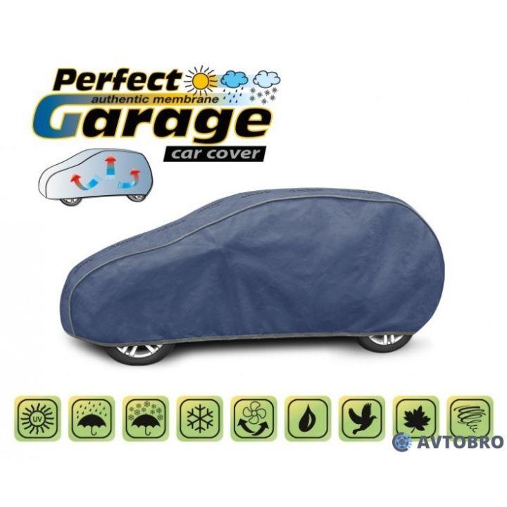 "Тент для автомобиля на хетчбэк ""M1"" 3.55см-3.80см ""Perfect Garage"""