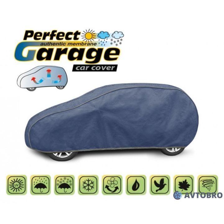 "Тент для автомобиля на хетчбэк ""M2"" 3.80см-4.05см ""Perfect Garage"""