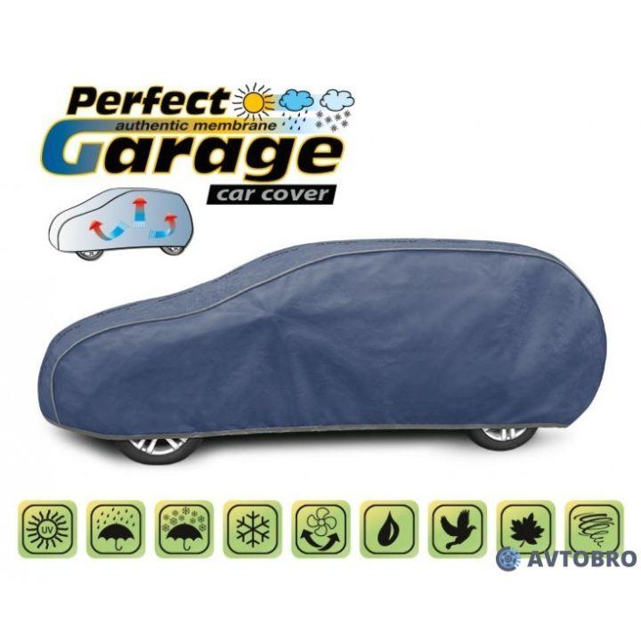 "Тент для автомобиля на хетчбэк ""XL"" 4.55см-4.80см ""Perfect Garage"""