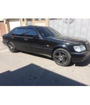Дефлекторы окон для Mercedes S-class W140 '91-98, Long (Cobra Tuning)