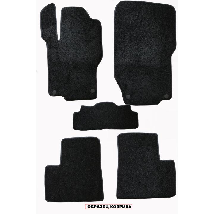 Коврики в салон текстильные для Volkswagen Passat B7 '10-14, (Грумс Люкс)